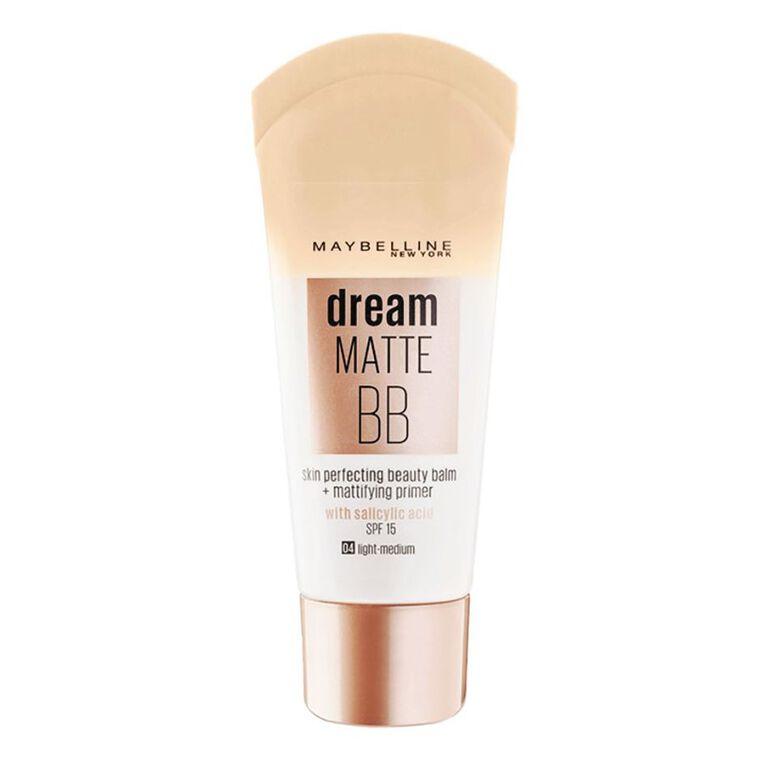 Maybelline Dream Matte BB Cream Medium, , hi-res