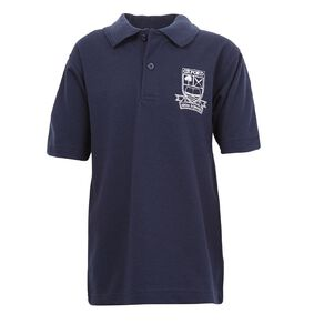 Schooltex Oxford Area School Short Sleeve Polo with Embroidery