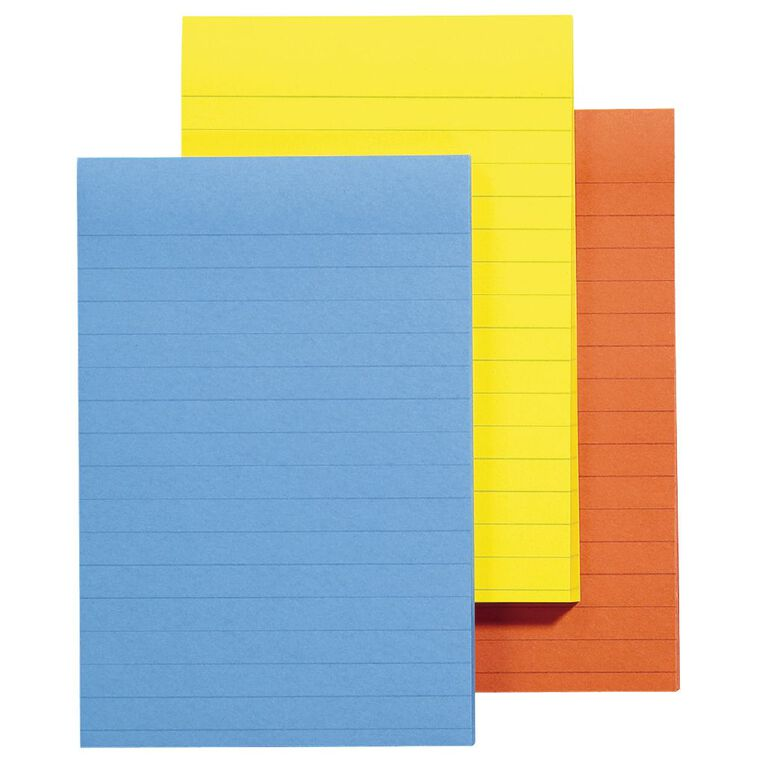 Post-It Notes A World Of Colour Jaipur Collection 101mm x 152mm 3 Pack, , hi-res