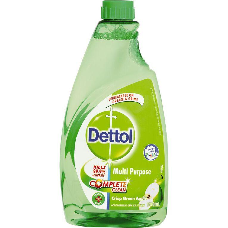 Dettol Dettol Multi Purpose Cleaners Mpc Apple Refill 500Ml, , hi-res