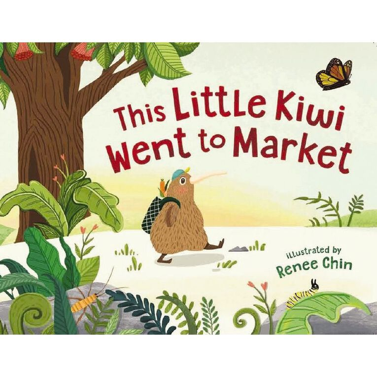This Little Kiwi Went to Market by Renee Chin, , hi-res