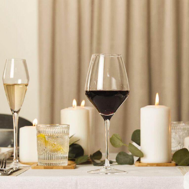 Living & Co Maya Red Wine Glass 4 Pack 600ml, , hi-res