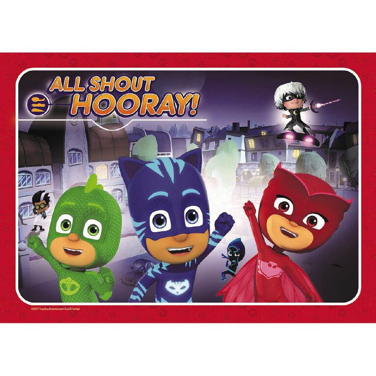 PJ Masks Frame Tray Puzzle 35 Piece Assorted, , hi-res