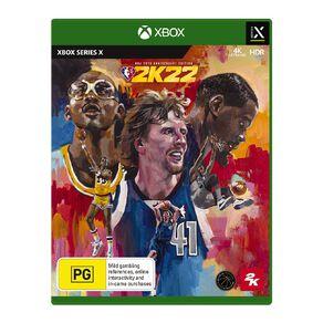 Xbox Series X NBA 2K22 Anniversary Edition