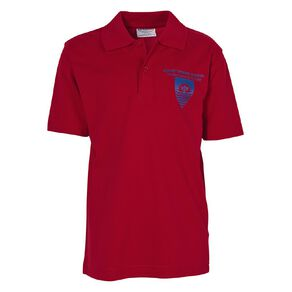 Schooltex Sunset Short Sleeve Polo with Transfer
