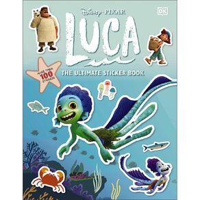 Disney Pixar: Luca Ultimate Sticker Book