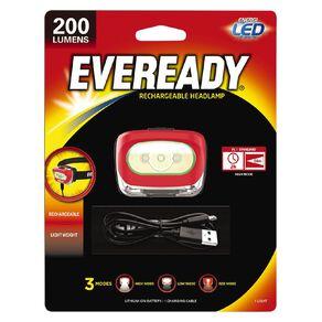 Eveready Recharge Headlight 200 Lumens