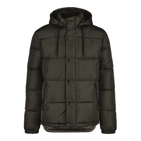 Garage Men's Puffer Hooded Jacket