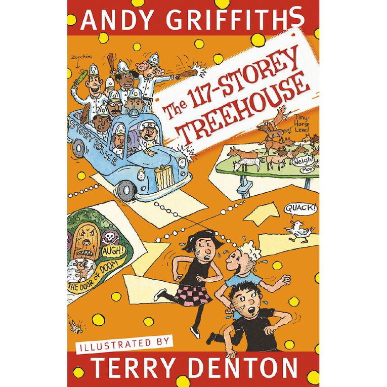 The 117 Storey Treehouse by Andy Griffiths & Terry Denton, , hi-res