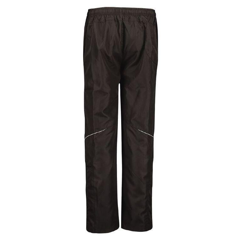 Schooltex Razor Sports Pants, Black, hi-res