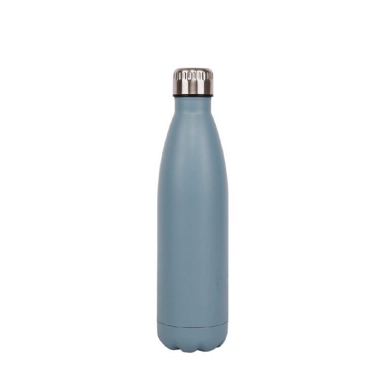 Living & Co Stainless Steel Drink Bottle Blue 750ml, , hi-res
