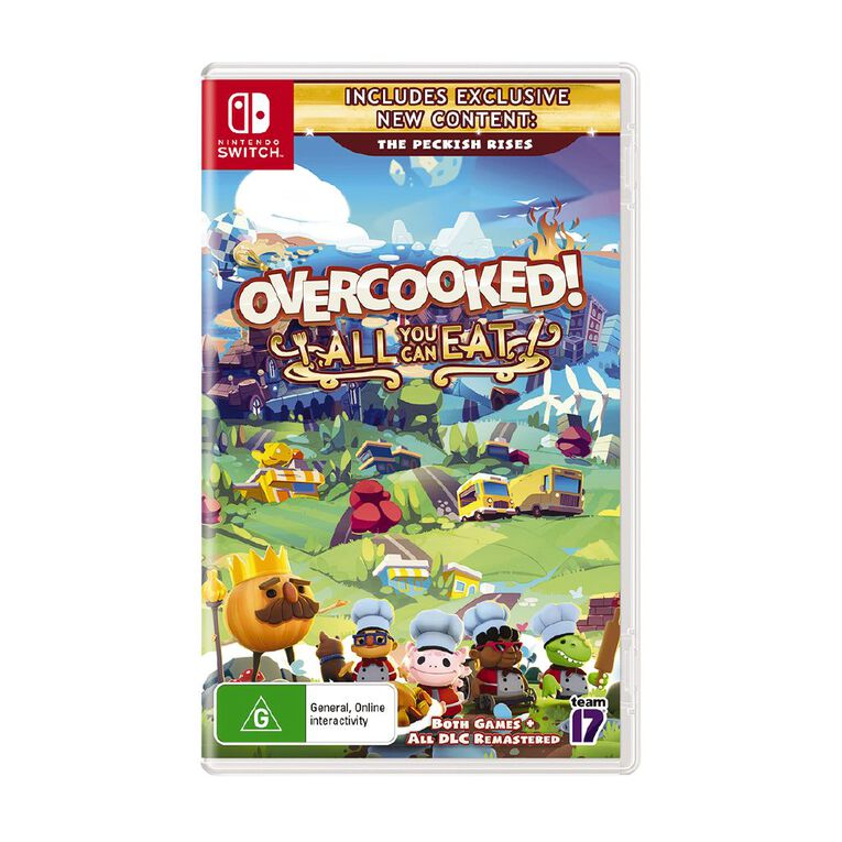 Nintendo Switch Overcooked All You Can Eat, , hi-res