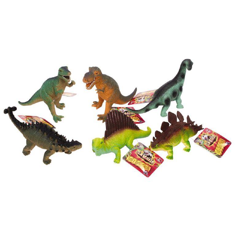Soft PVC Dinosaurs, , hi-res