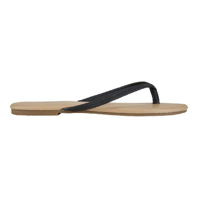 H&H Reims Sandals, Black, hi-res