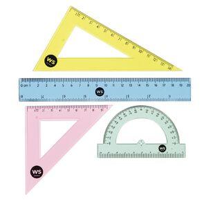 WS Colour Math Colour Set Clear