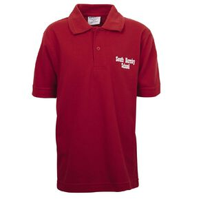 Schooltex South Hornby Short Sleeve Polo with Embroidery