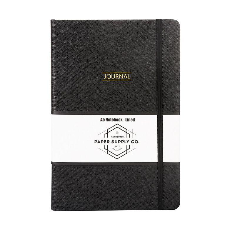 Paper Co Citta Journal Black A5, , hi-res