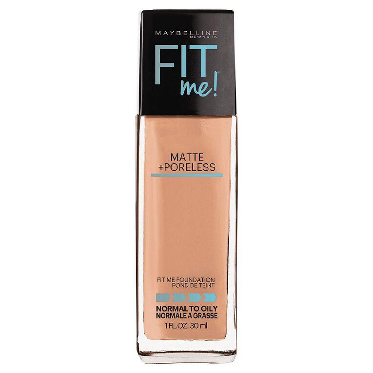 Maybelline Fit Me Matte + Poreless Foundation 242 Light Honey, , hi-res