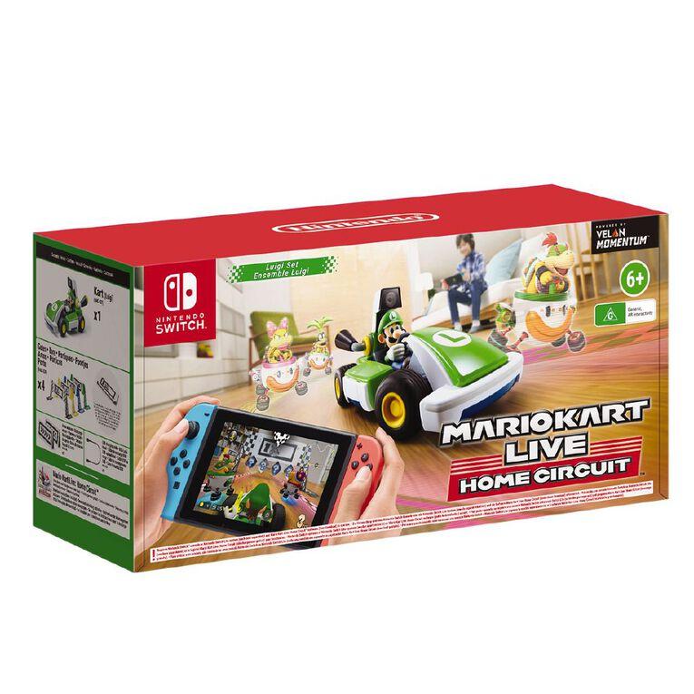 Nintendo Switch Mario Kart Live: Home Circuit (Luigi Set), , hi-res