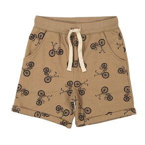 Young Original Hipster Print Shorts