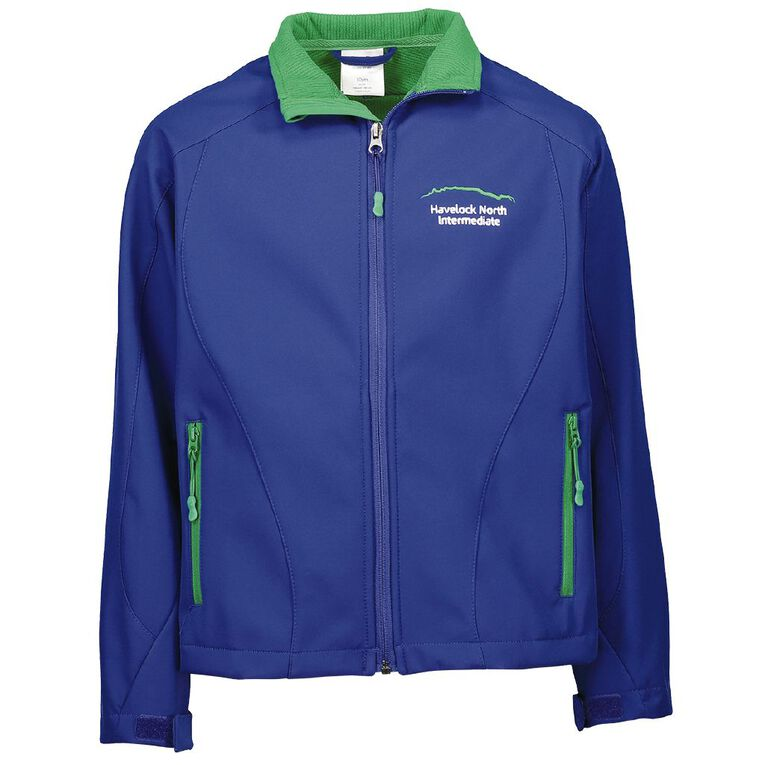 Schooltex Havelock North Softshell Jacket with Embroidery, Royal, hi-res