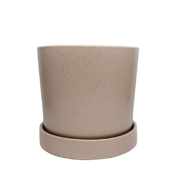 Kiwi Garden Pot With Saucer 18cm, , hi-res