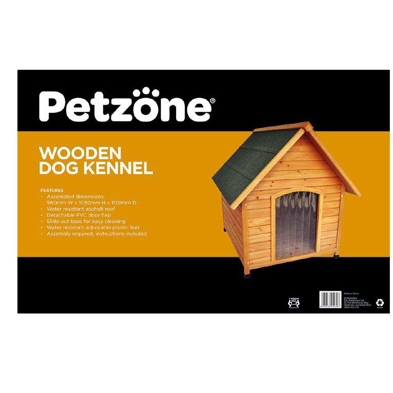 Petzone Wooden Dog Kennel, , hi-res