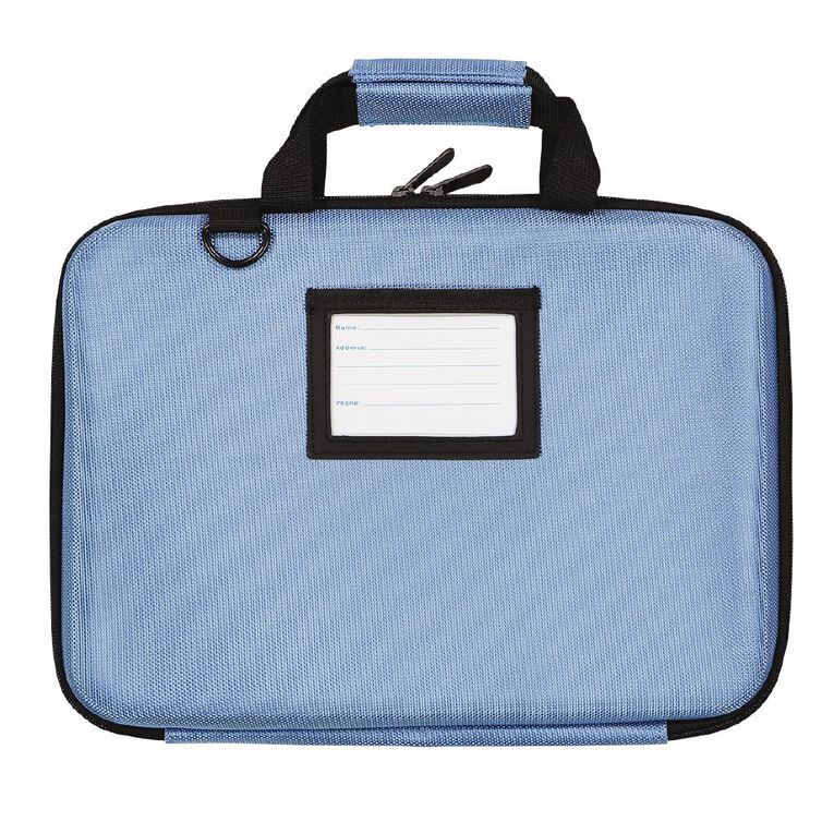 Tech.Inc 14.1 inch Hard-Shell Notebook Case Baby Blue Blue, , hi-res