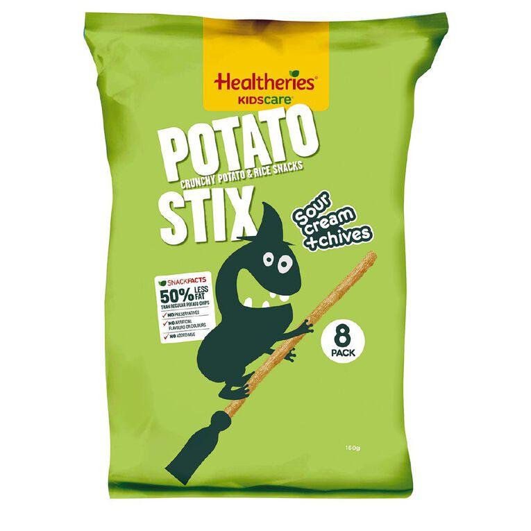 Healtheries Potato Stix Sour Cream & Chives 8 Pack, , hi-res