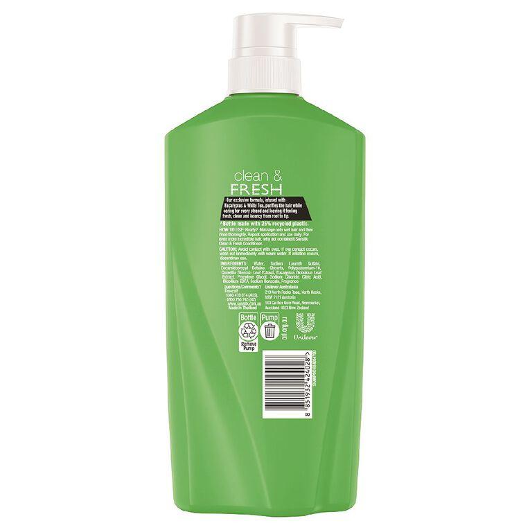 Sunsilk Shampoo Clean & Fresh 700ml, , hi-res