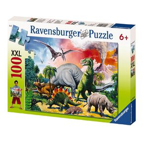 Ravensburger Among the Dinosaurs Puzzle 100 Piece