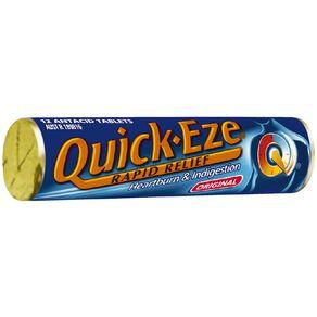 Quick Eze Antacid Original Stick 12s