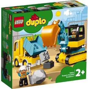 LEGO DUPLO Truck and Tracked Excavator 10931