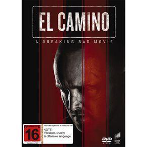 El Camino A Breaking Bad Movie DVD 1Disc