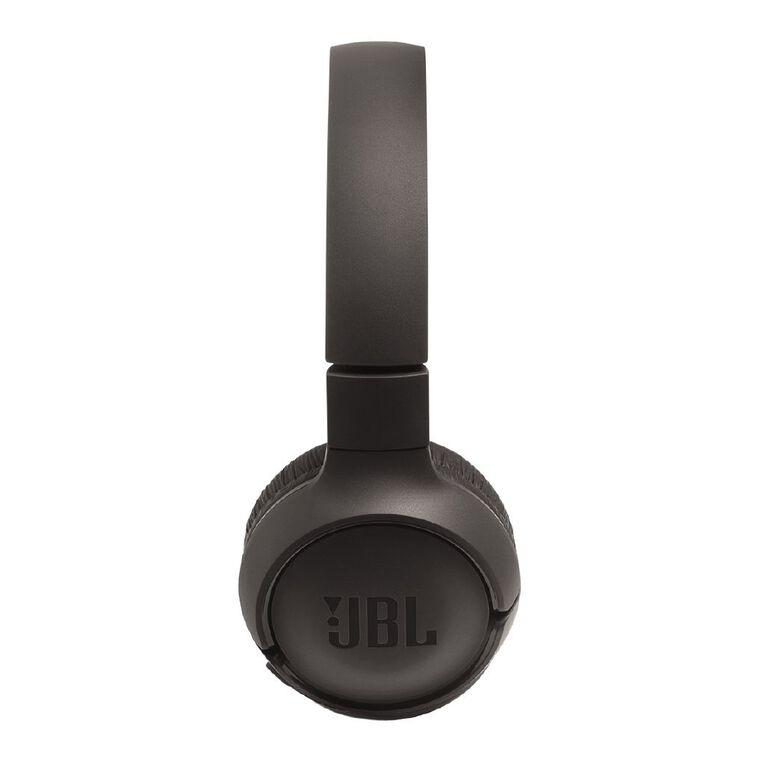 JBL T500BT On-Ear Wireless Headphones Black, , hi-res