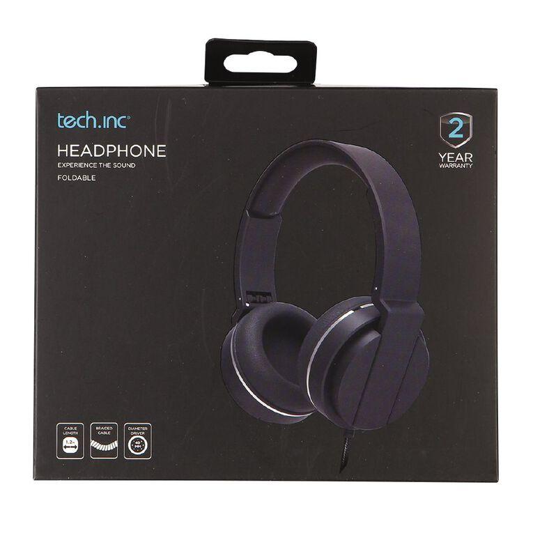Tech.Inc Over Ear Headphones Black, , hi-res