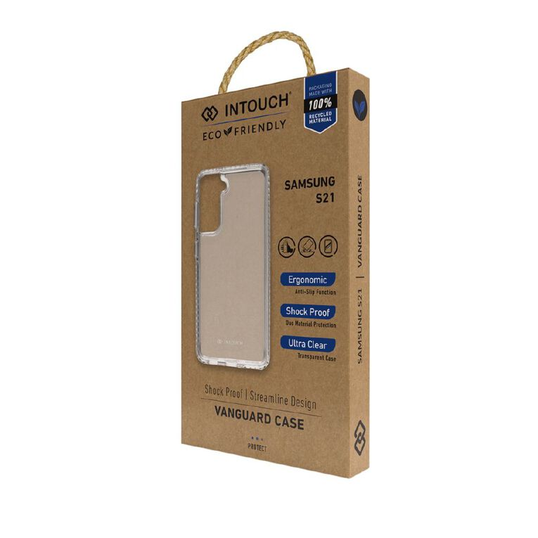 INTOUCH Samsung S21 Vanguard Drop Protection Case Clear, , hi-res