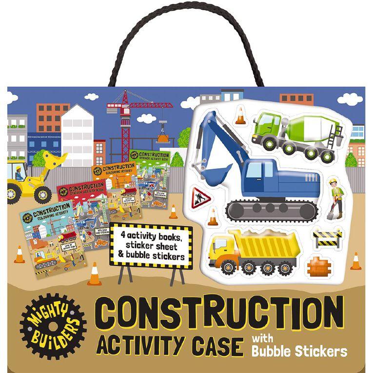 Bubble Sticker Activity Case: Construction, , hi-res