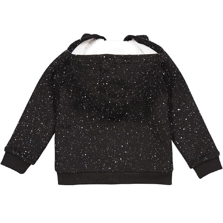 Young Original Toddler Sherpa Lined Sweatshirt, Black, hi-res