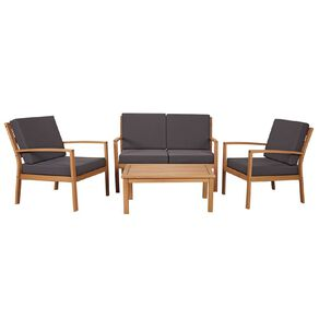 Living & Co Verona Lounge Setting 4 Piece
