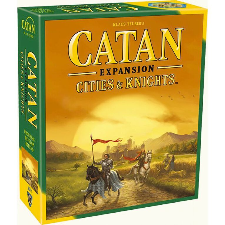 Catan Cities & Knights Expansion, , hi-res
