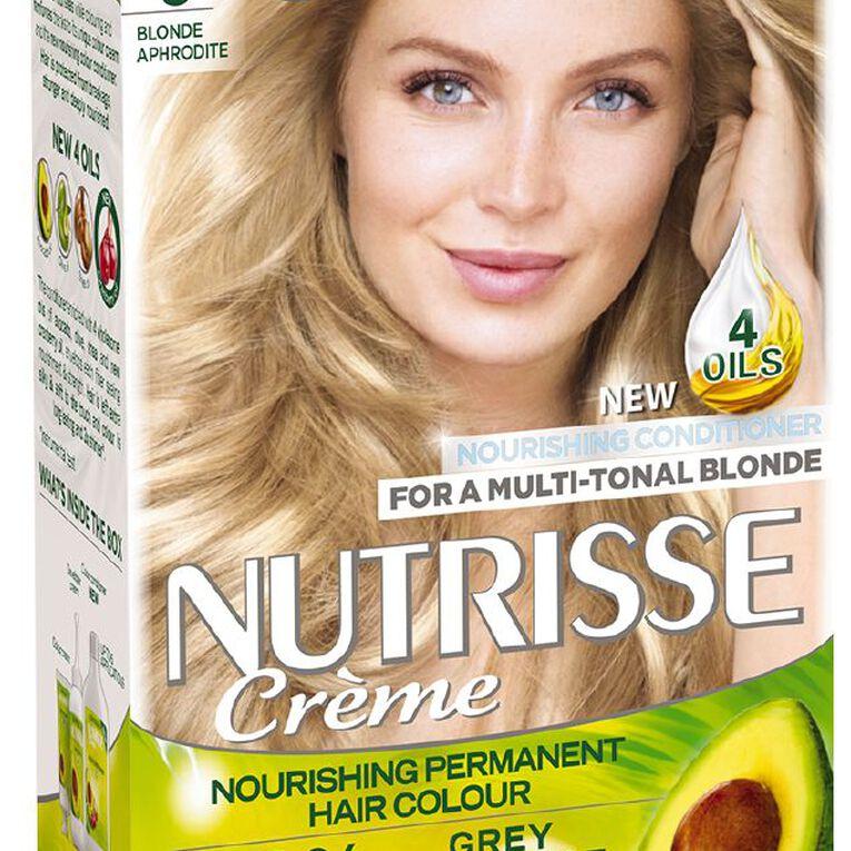 Garnier Nutrisse Permanent Creme Light Natural Blonde Aphrodite 9, , hi-res