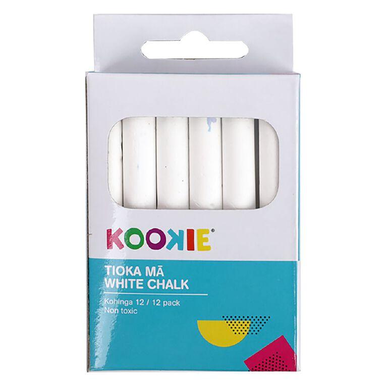 Kookie White Chalk 12 Pack, , hi-res