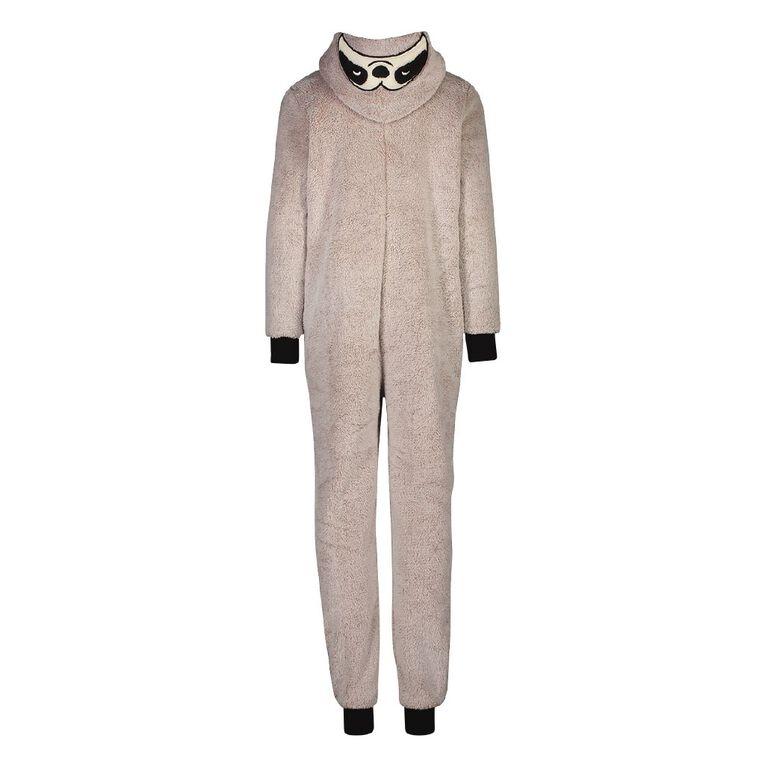 H&H Kids' Sloth Onesie, Grey, hi-res