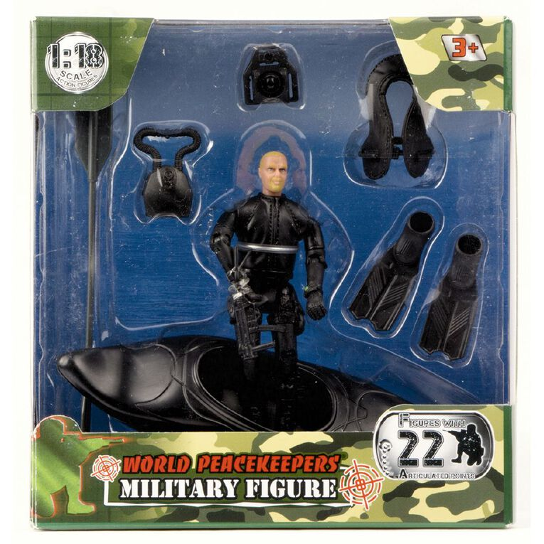 World Peacekeepers Military Figures Assorted, , hi-res