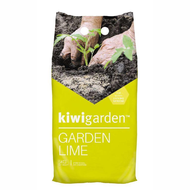 Kiwi Garden Lime Fertiliser 5kg, , hi-res