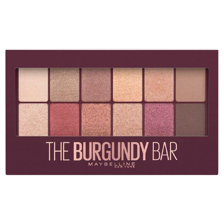 Maybelline The Burgandy Bar Eye Shadow Palette, , hi-res