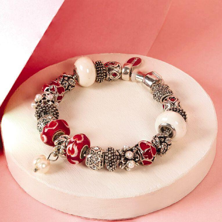 Mestige Crystals from Swarovski' Doting Bracelet in Silver, , hi-res