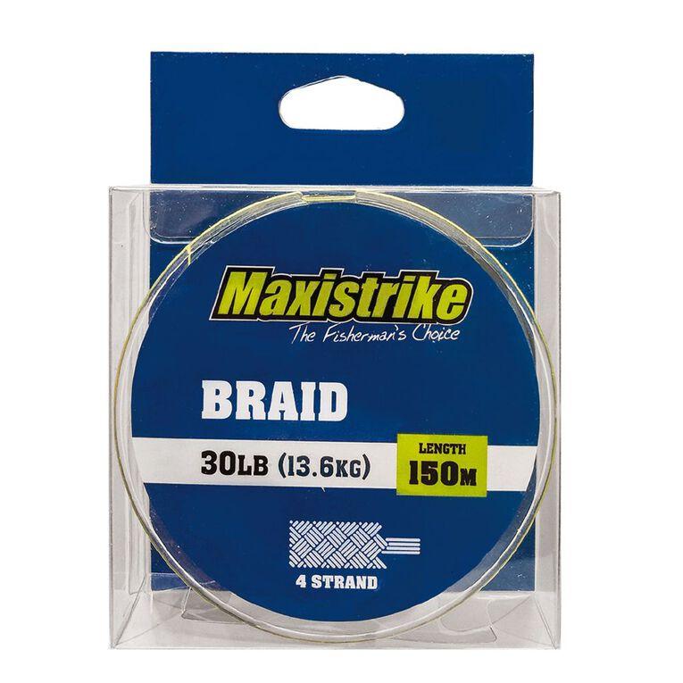 Maxistrike Braid 30lb 150m, , hi-res