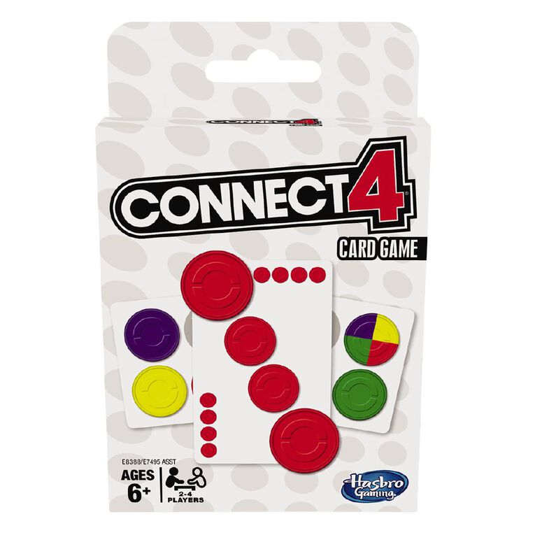 Classic Card Games Connect 4, , hi-res